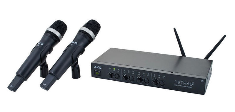 Готовый комплект радиосистемы AKG DMS Tetrad Vocal Set D5 - EU akg wms470 vocal set d5 bd7 500 531