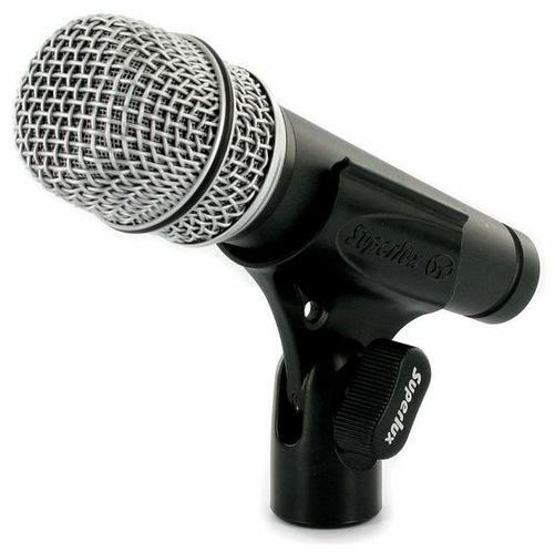 Универсальный инструментальный микрофон Superlux D10B интерком система superlux hmd 660x