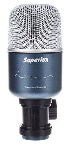Микрофон для ударных инструментов Superlux Pro 218A интерком система superlux hmd 660x