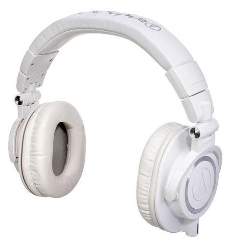 Наушники закрытого типа Audio-Technica ATH-M50 X WH наушники закрытого типа audio technica ath m50 x wh