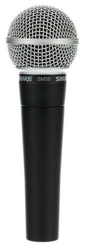 Динамический микрофон Shure SM58-LCE shure sm58 lce кардиоидный динамический вокальный микрофон black