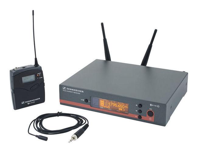 Радиосистема с петличным микрофоном Sennheiser EW 112 G3 / 1G8 радиосистема sennheiser ew 100 945 g3 b x