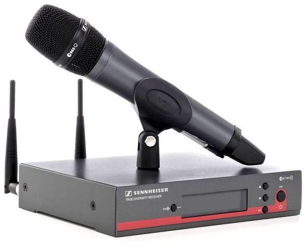 Готовый комплект радиосистемы Sennheiser EW 135 G3-B-X приёмник и передатчик для радиосистемы akg dsr700 v2 bd1