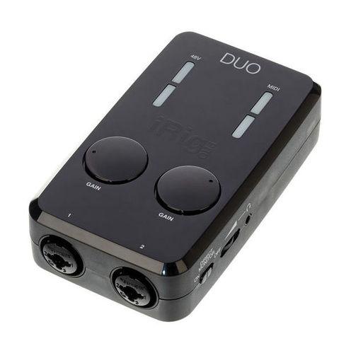 Звуковая карта внешняя IK Multimedia iRig Pro Duo карта памяти memorystick duo pro sony ms hx16b t1