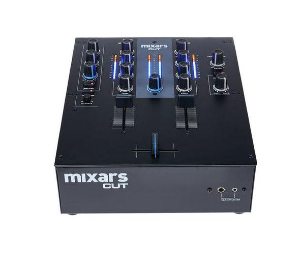 2-канальный микшер Mixars Cut шапка с эквалайзером купить в москве