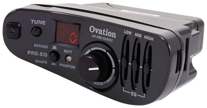Усилитель для акустической гитар Ovation OP-PRO Preamp усилитель для акустической гитар roland cube street ex