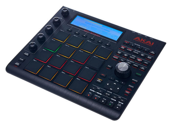 MIDI, Dj контроллер AKAI MPC Studio black midi контроллер akai professional mpc touch