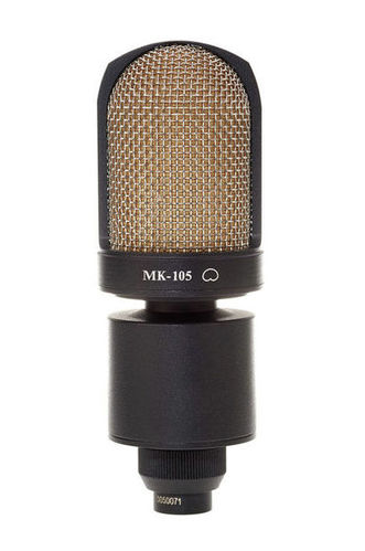 Микрофон с большой мембраной для студии Октава МК-105 черный в ФДМ2-06 купить газовый счетчик октава g4