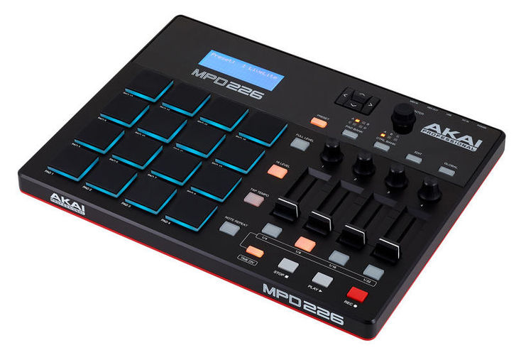 MIDI, Dj контроллер AKAI MPD226 midi контроллер akai professional mpc touch