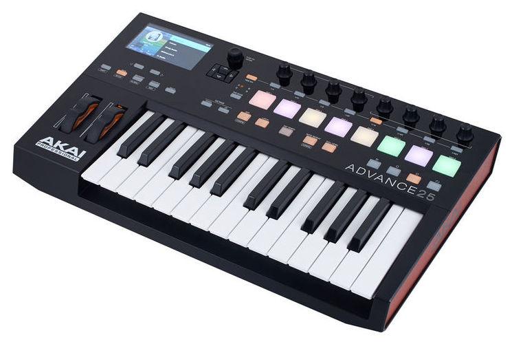 MIDI-клавиатура 25 клавиш AKAI Advance 25