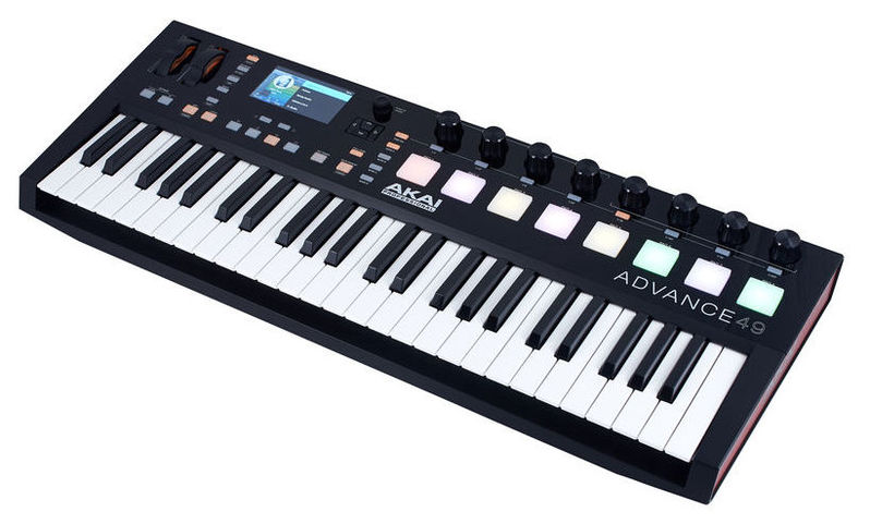 MIDI-клавиатура 49 клавиш AKAI Advance 49