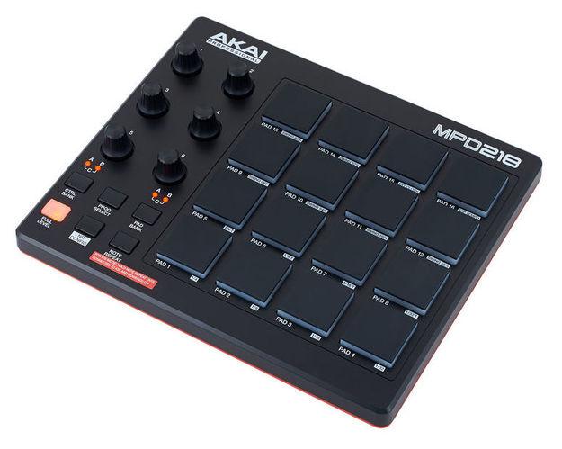 MIDI, Dj контроллер AKAI MPD218 midi контроллер alesis sample pad