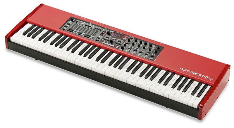 Цифровое пианино Clavia Nord Electro 5 HP 73 электроорган clavia nord c2d combo organ