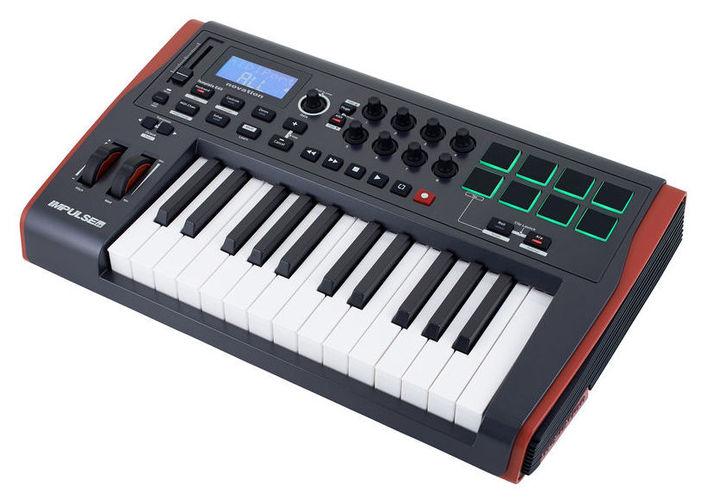 MIDI-клавиатура 25 клавиш Novation Impulse 25 цена и фото