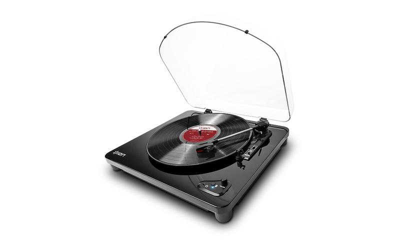 Проигрыватель винила с ременным приводом ION Audio Air LP Black air air premiers symptomes lp