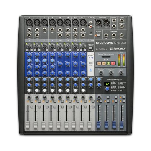 Аналоговый микшер PreSonus StudioLive AR12 USB аудио интерфейс presonus audiobox 44vsl ubs 2 0