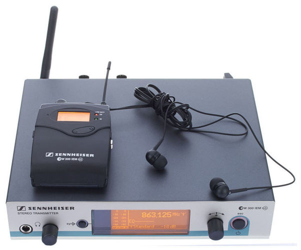 аксессуар sennheiser skp 300 g3 a x Беспроводная система персонального мониторинга Sennheiser EW 300 IEM G3-G-X