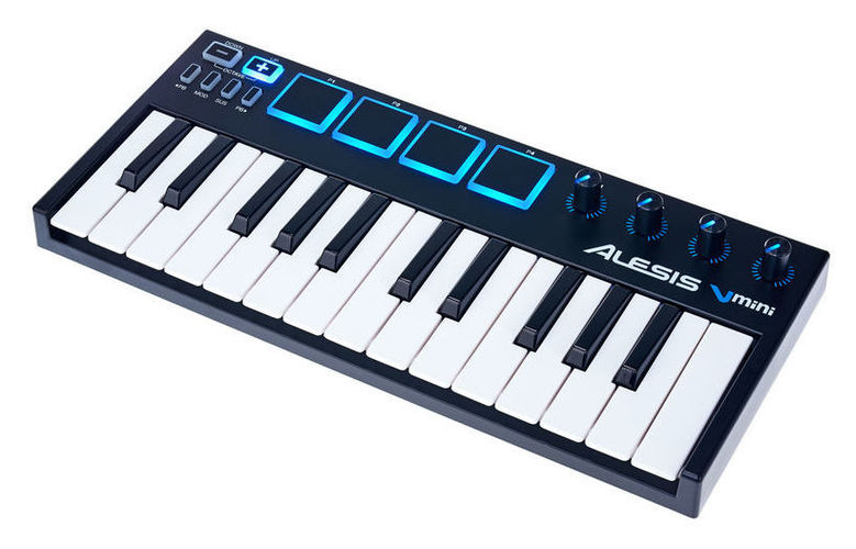 MIDI-клавиатура 25 клавиш Alesis V Mini midi контроллер alesis sample pad