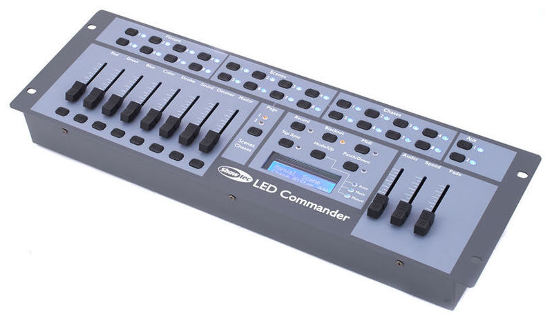 Контроллер DMX Showtec LED Commander showtec performer led 60