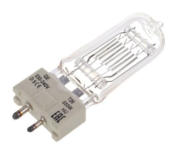 Галогенная лампа GE Lighting T26 650W галогенная лампа ge lighting cp41 2000w 230v g38