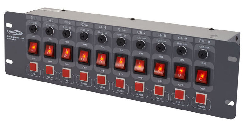 Световой контроллер Showtec DJ Switch 10-F showtec performer led 60