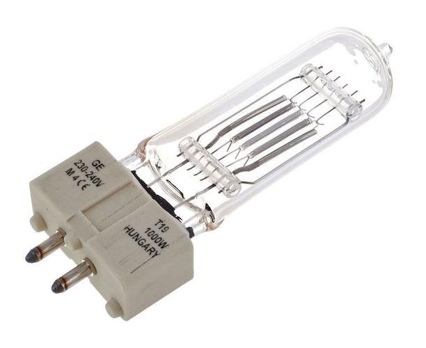 Галогенная лампа GE Lighting T19 1000 W, GX9,5 галогенная лампа ge lighting cp41 2000w 230v g38