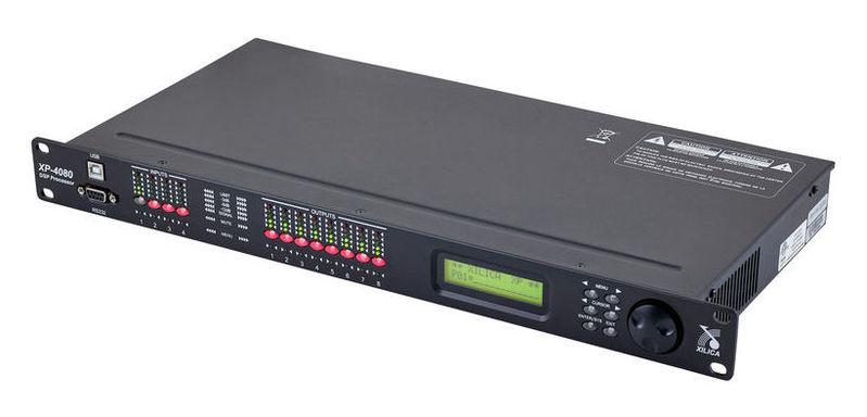 Кроссовер для звука Xilica XP-4080 контроллер акустических систем dbx driverack pa 2