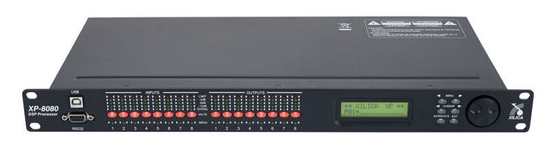 Кроссовер для звука Xilica Xp-8080 контроллер акустических систем dbx driverack pa 2