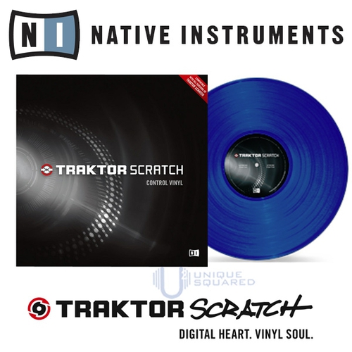 Dj аксессуар Native Instruments Traktor Scratch Pro Control Vinyl Blue MK2 смартфон highscreen fest xl pro blue