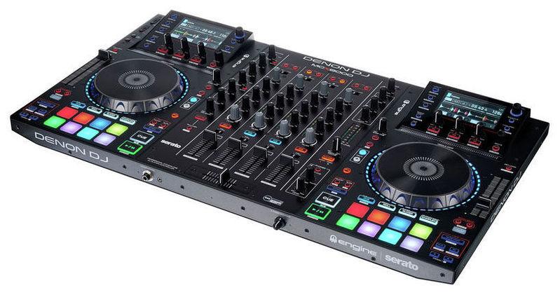 MIDI, Dj контроллер Denon DJ MCX8000 denon dn mcx8000