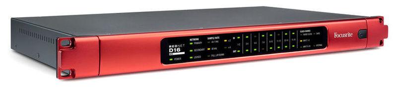 Звуковая карта внешняя Focusrite Rednet D16 AES focusrite octopre mk2