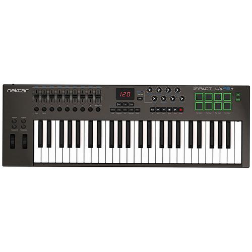 MIDI-клавиатура 49 клавиш Nektar Impact LX49+ midi клавиатура 61 клавиша nektar impact lx61