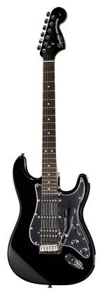 Стратокастер Fender Squier FatStrat Black & Chrome fender squier bullet stratocaster rw bk в украине