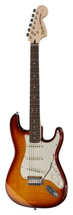 купить Стратокастер Fender SQ Standard Strat FMT AMB недорого