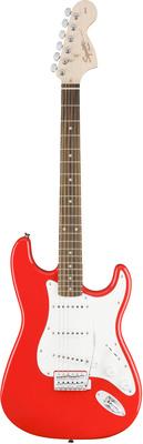 Стратокастер Fender Squier Affinity Strat Race Red squier