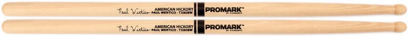 Палочки для ударных с автографами ProMark TX808W 808 Paul Wertico палочки для ударных с автографами promark txpcw pc phil collins