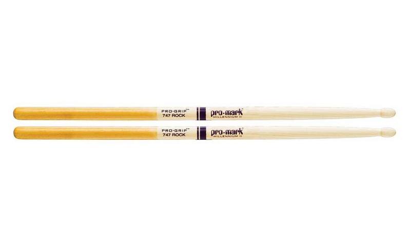 Универсальные палочки для ударных ProMark TXPG747W 747 Pro-Grip палочки для ударных с автографами promark txpcw pc phil collins