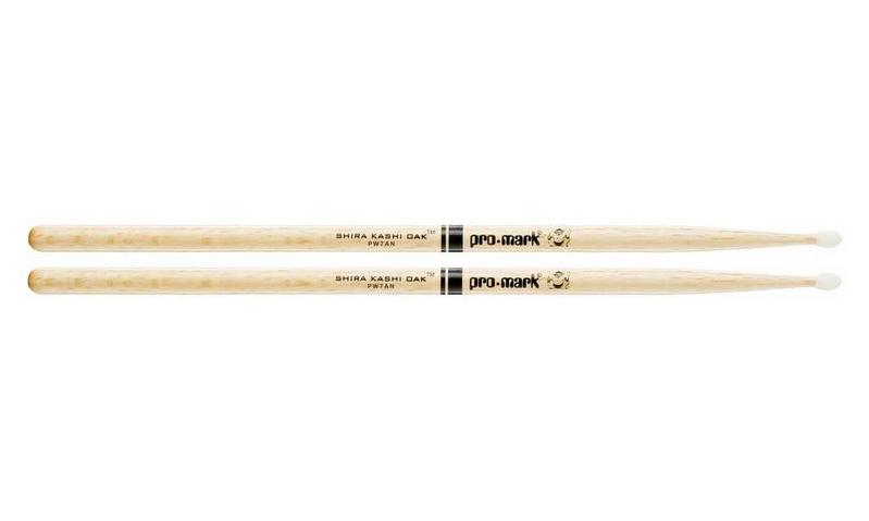 7A палочки для ударных ProMark PW7AN Shira Kashi 7A палочки для ударных с автографами promark txpcw pc phil collins