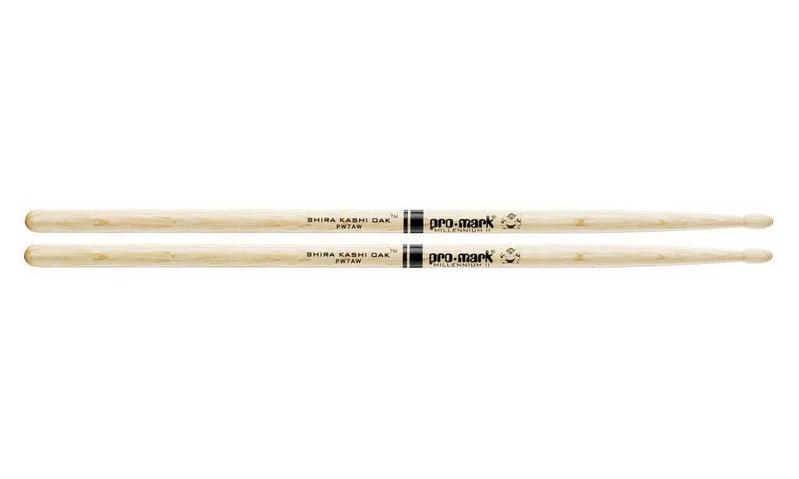 7A палочки для ударных ProMark PW7AW Shira Kashi 7A палочки для ударных с автографами promark txpcw pc phil collins