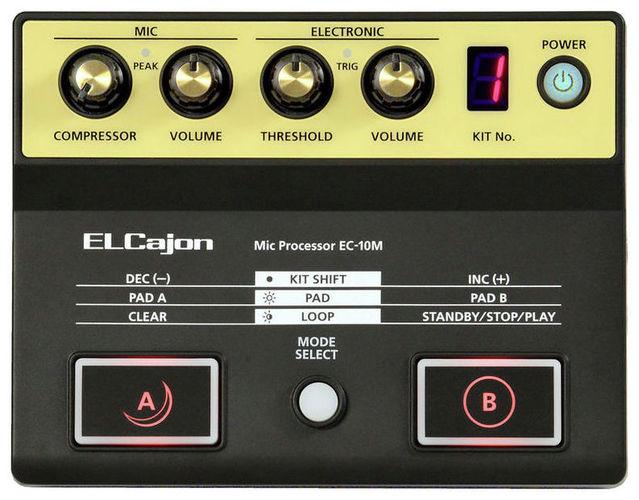 Звуковой модуль для установок Roland EC-10M ELCajon Mic Processor вокальный процессор roland vp 03