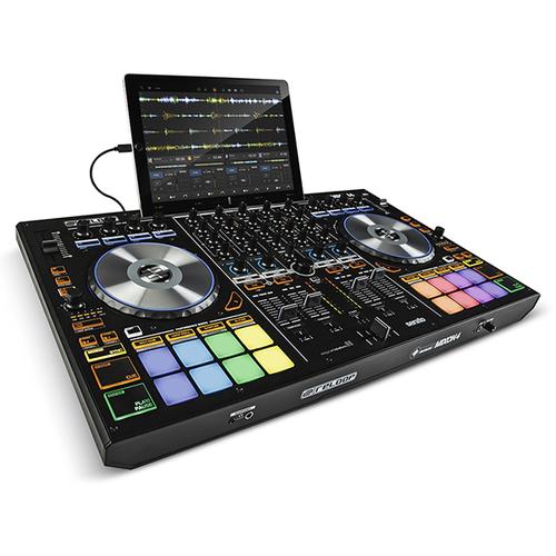 MIDI, Dj контроллер Reloop Mixon 4 кабели и переходники otg
