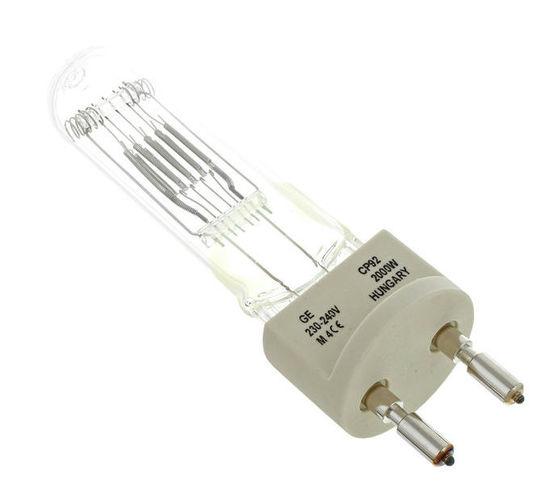 Галогенная лампа GE Lighting CP92 2000W/G22 галогенная лампа ge lighting cp41 2000w 230v g38