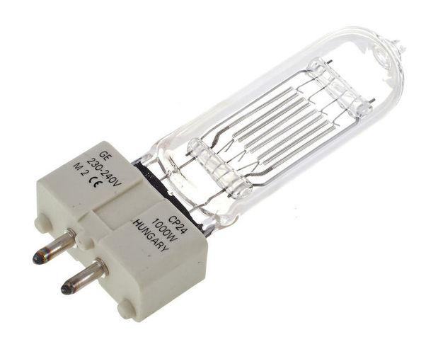 Галогенная лампа GE Lighting CP24 1000W 230V галогенная лампа ge lighting cp41 2000w 230v g38