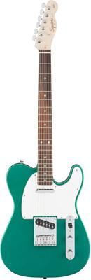 Телекастер Fender Squier Affinity Tele Green телекастер fender squier standard tele rw vb
