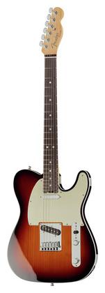 Телекастер Fender AM Elite Telecaster RW 3TSB fender american elite telecaster maple fingerboard butterscotch blonde