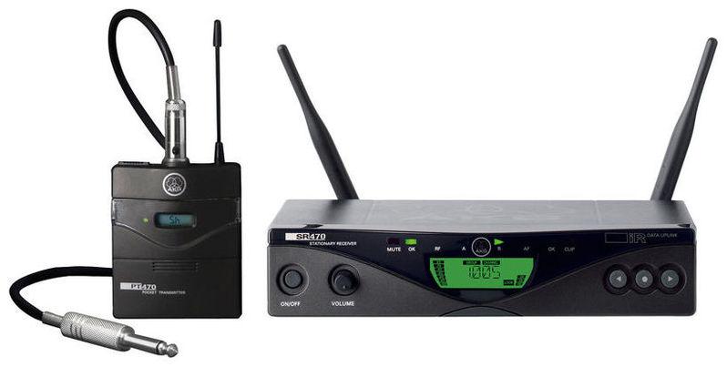Радиосистема инструментальная AKG WMS 470 Instrument Set Band 10 радиосистема akg wms4500 d7 set bd8