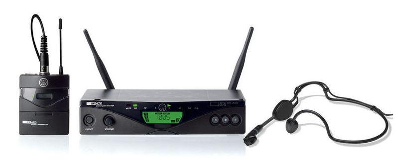 Радиосистема с головным микрофоном AKG WMS 470 Sport Set Band 10 радиосистема с головным микрофоном akg pw45 sport set band m