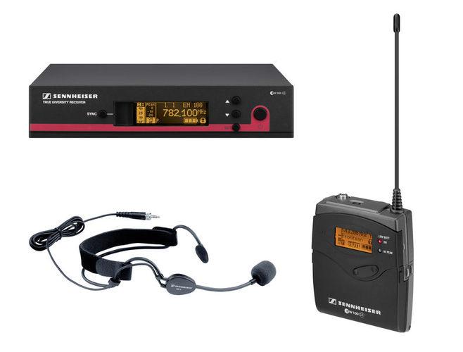 Радиосистема с головным микрофоном Sennheiser EW 152 G3 / GB-Band радиосистема с головным микрофоном akg pw45 sport set band m