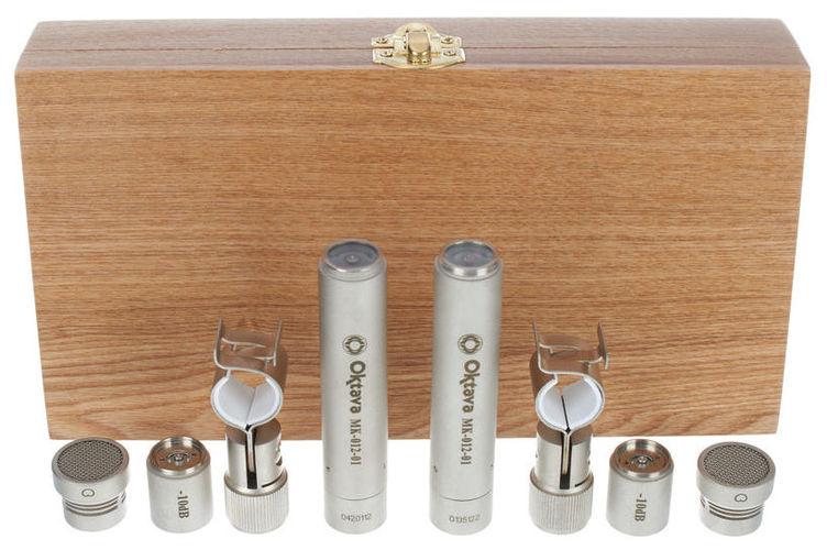 Универсальный инструментальный микрофон Октава МК-012-01 Стереопара Никель купить газовый счетчик октава g4