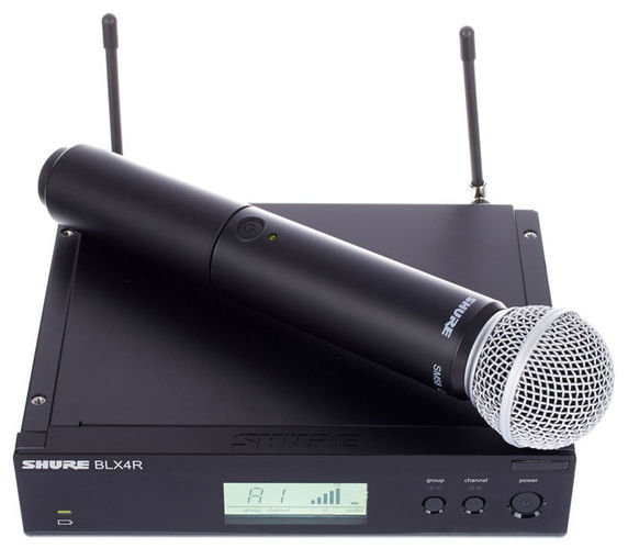 Готовый комплект радиосистемы Shure BLX24RE/SM58 K3E shure blx14e k3e
